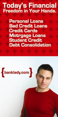 Vote and Link To Banklady.com and get paid! (banner or text)